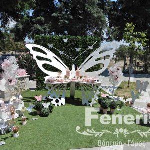 Στολισμός βάπτισης Πεταλούδα (3)