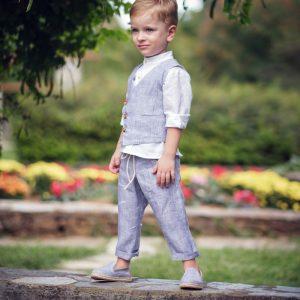 Βαπτιστικά ρούχα για Αγόρι Designer's Cat.