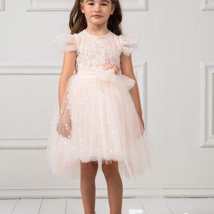 Βαπτιστικά ρούχα για Κορίτσι Designer's Cat Brianna