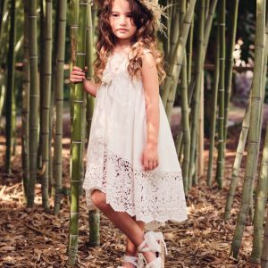Βαπτιστικά ρούχα για Κορίτσι Designer's Cat Aspen