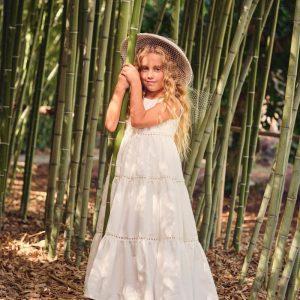 Βαπτιστικά ρούχα για Κορίτσι Designer's Cat Annalise