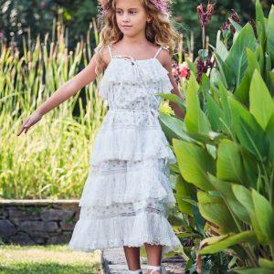 Βαπτιστικά ρούχα για Κορίτσι Designer's Cat Averie