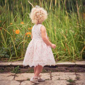 Βαπτιστικά ρούχα για Κορίτσι Designer's Cat Maritina pink