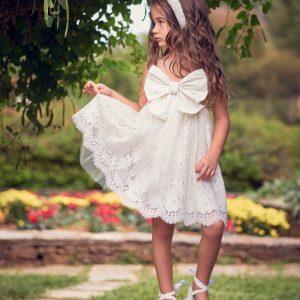Βαπτιστικά ρούχα για Κορίτσι Designer's Cat Alaina