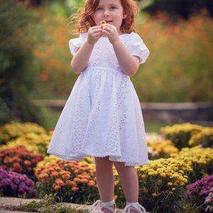 Βαπτιστικά ρούχα για Κορίτσι Designer's Cat Gianna