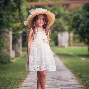 Βαπτιστικά ρούχα για Κορίτσι Designer's Cat Kalia