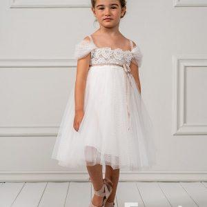 Βαπτιστικά ρούχα για κορίτσι Shelby