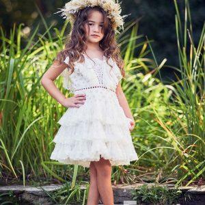 Βαπτιστικά ρούχα για κορίτσι Shelly