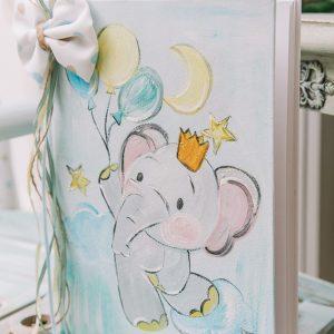 Ευχολόγιο βάπτισης για αγόρι ελεφαντάκι