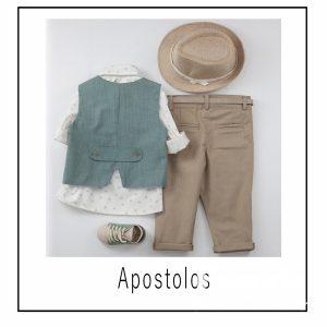 Βαπτιστικά ρούχα για Αγόρι Apostolos