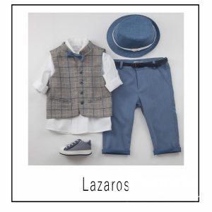 Βαπτιστικά ρούχα για Αγόρι Lazaros