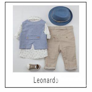 Βαπτιστικά ρούχα για Αγόρι Leonardo