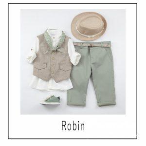 Βαπτιστικά ρούχα για Αγόρι Robin