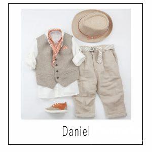 Βαπτιστικά ρούχα για Αγόρι Daniel