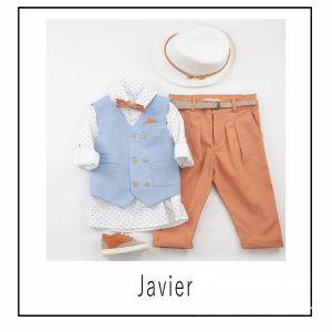Βαπτιστικά ρούχα για Αγόρι Javier