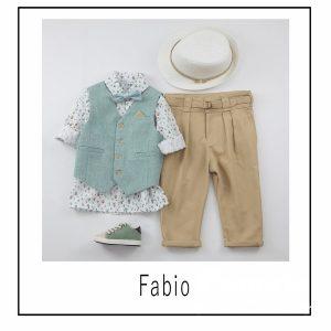 Βαπτιστικά ρούχα για Αγόρι Fabio