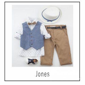 Βαπτιστικά ρούχα για Αγόρι Jones