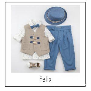 Βαπτιστικά ρούχα για Αγόρι Felix