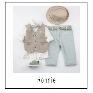 Βαπτιστικά ρούχα για Αγόρι Ronnie