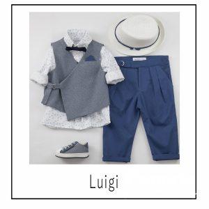 Βαπτιστικά ρούχα για Αγόρι Luigi