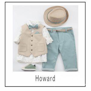 Βαπτιστικά ρούχα για Αγόρι Howard