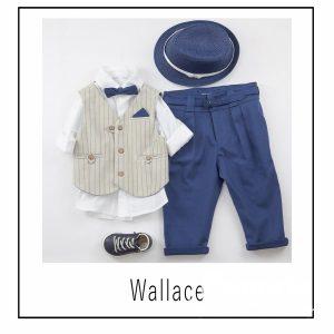 Βαπτιστικά ρούχα για Αγόρι Wallace