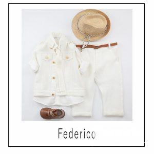 Βαπτιστικά ρούχα για Αγόρι Federico