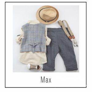 Βαπτιστικά ρούχα για Αγόρι Max