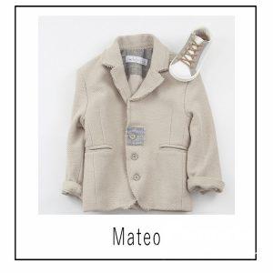 Βαπτιστικά ρούχα για Αγόρι Mateo