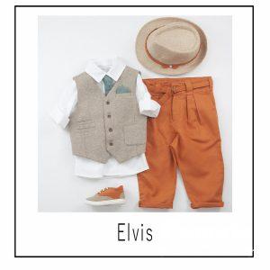 Βαπτιστικά ρούχα για Αγόρι Elvis