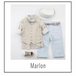 Βαπτιστικά ρούχα για Αγόρι Marlon