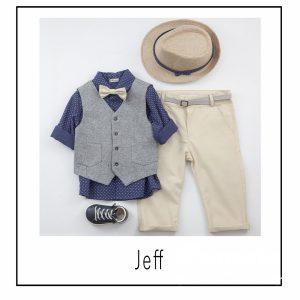 Βαπτιστικά ρούχα για Αγόρι Jeff