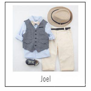 Βαπτιστικά ρούχα για Αγόρι Joel