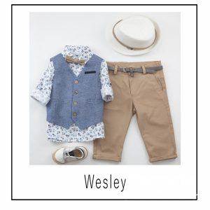 Βαπτιστικά ρούχα για Αγόρι Wesley