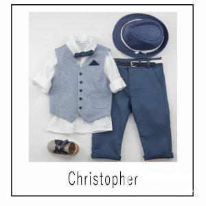 Βαπτιστικά ρούχα για Αγόρι Christopher