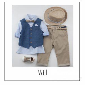 Βαπτιστικά ρούχα για Αγόρι Will