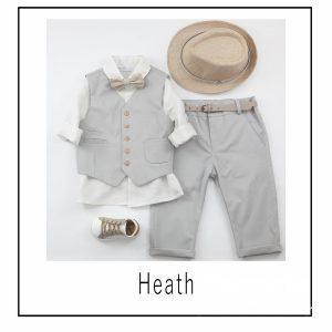 Βαπτιστικά ρούχα για Αγόρι Heath