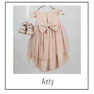 Βαπτιστικά ρούχα για Κορίτσι Anty
