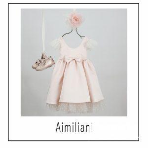 Βαπτιστικά ρούχα για Κορίτσι Aimiliani.