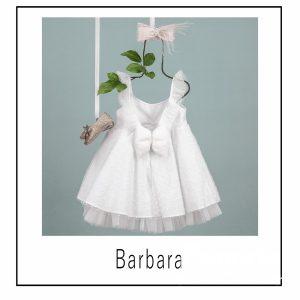 Βαπτιστικά ρούχα για Κορίτσι Barbara