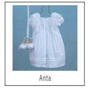 Βαπτιστικά ρούχα για Κορίτσι Anta