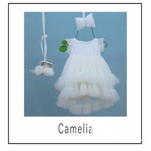 Βαπτιστικά ρούχα για Κορίτσι Camelia