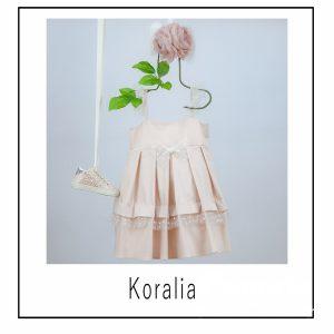 Βαπτιστικά ρούχα για Κορίτσι Koralia