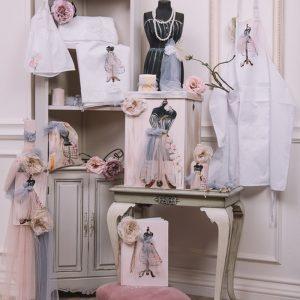 Σετ βάπτισης για κορίτσι Haute Couture
