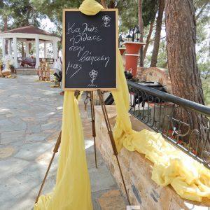 Στολισμός βάπτισης για κορίτσι μελισσούλα